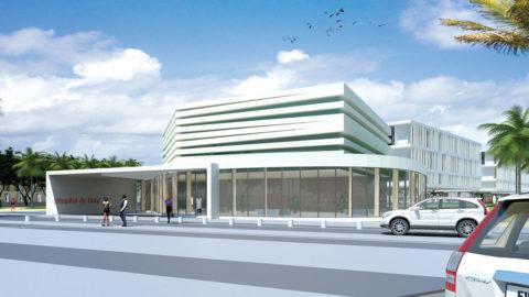 General hospital in Bata