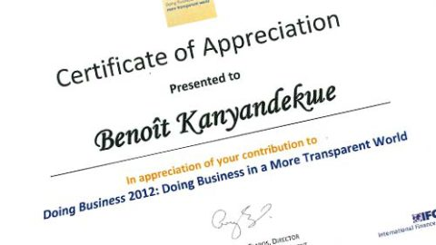 Business Transparency 2012