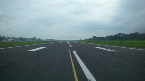 Malabo Airport: Restoration of the runway