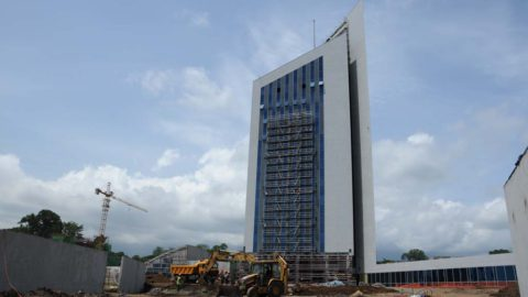 Headquarters of the Bank of Central African States (BEAC)