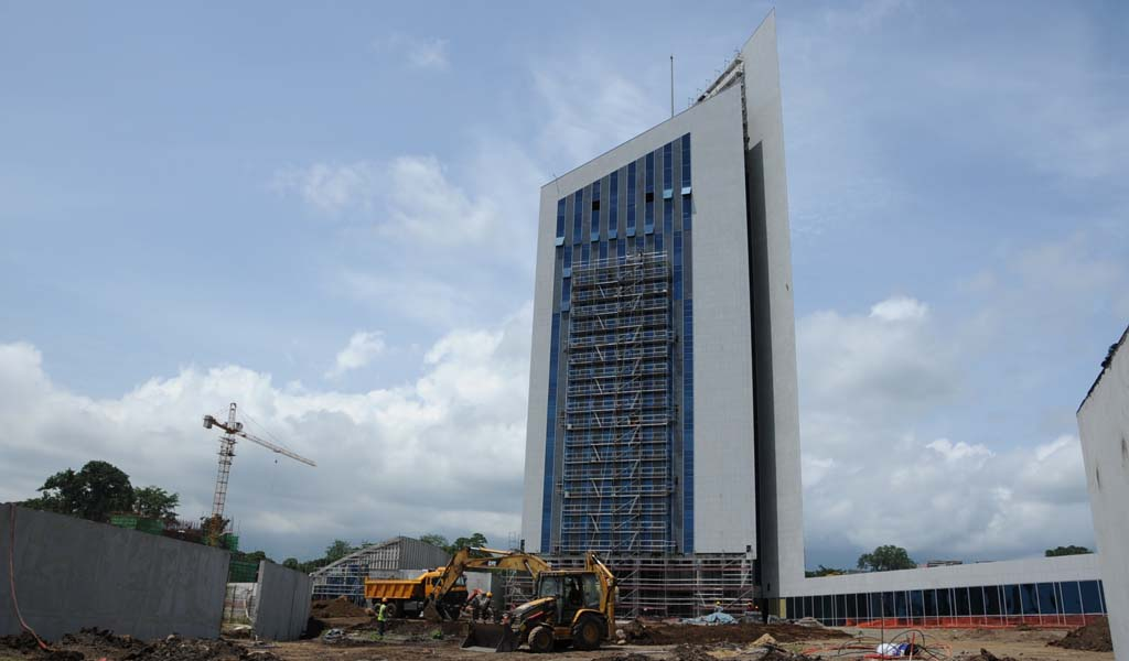 Headquarters Of The Bank Central African States Beac
